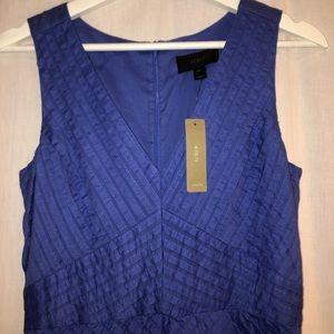 JCrew V-Neck Purple Dress Size 00
